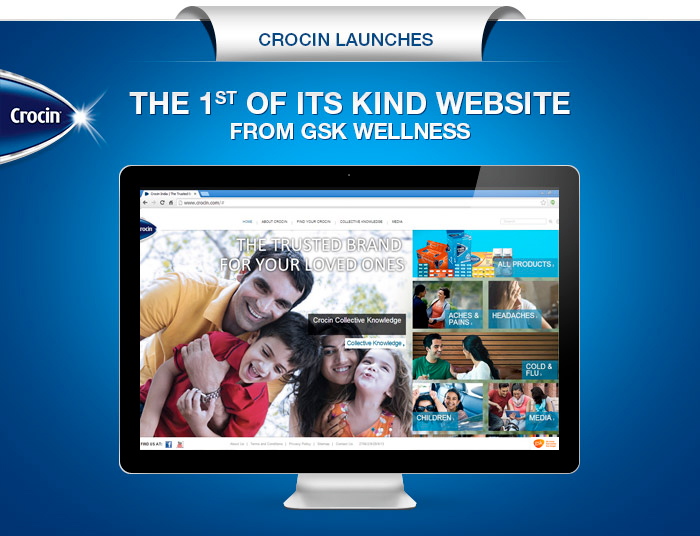 The 1st of its kind website from GSK wellness